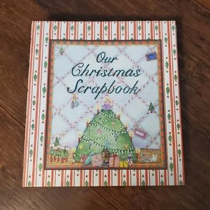 Our Christmas Scrapbook Hardcover Book